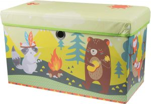 Clever Creations collapsible camping animal bench organizer