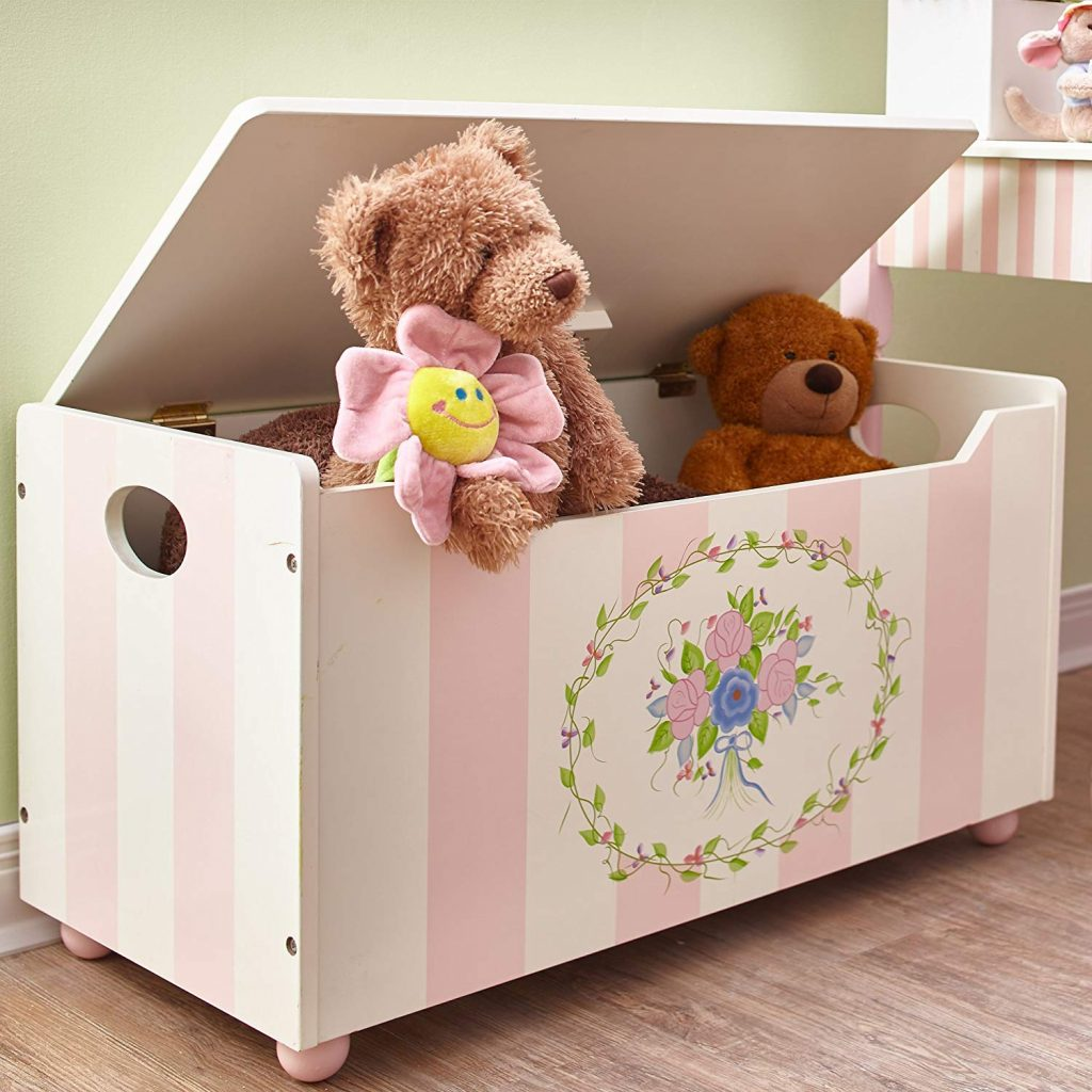 Fantasy Fields - Bouquet thematic kids wooden toy chest